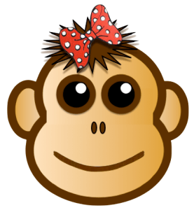 The Chimp Paradox - cartoon of chimp