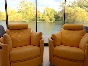 What do 2 yellow chairs, a comic book and an oil spill have in common? - photo of chairs