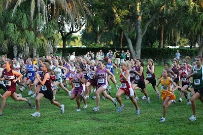 Keeping going keeps you going. Photo of running race