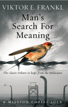 Phot of book - Man;s search for meaning