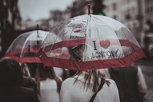 How to get happy - umbrella