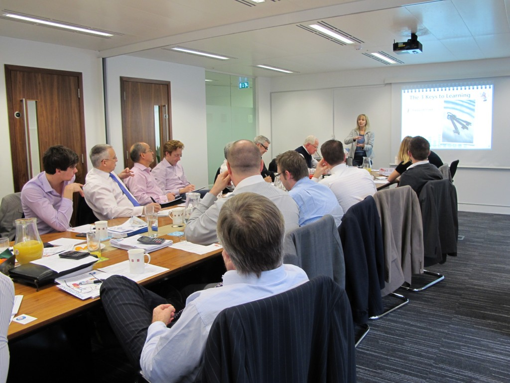 Lysette Offley's Genius Material Workshop at Seven Investment Management 23.01.12