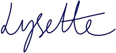 Lysette signature