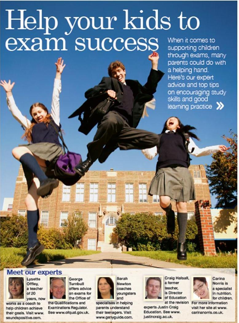 Lysette Offley & Genius Material in Tesco Magazine 2010