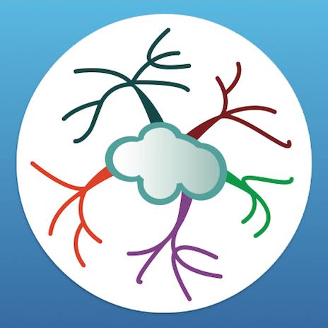 Mind Map logo GM